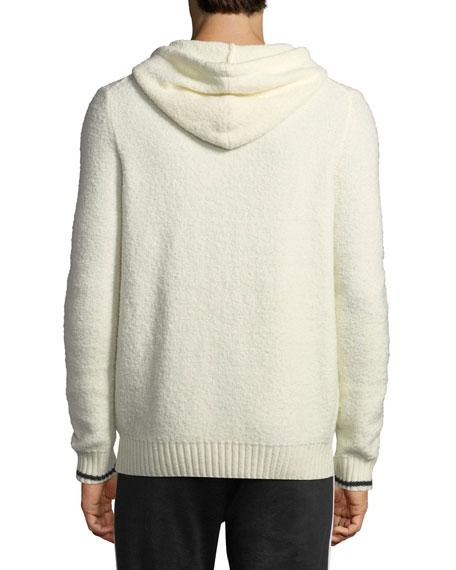 Vince Wool-Blend Pullover Hoodie