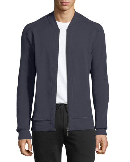 Hanro Living Zip-Front Knit Jacket