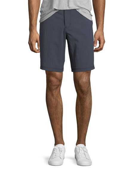John Varvatos Star USA Triple-Needle Cotton-Twill Shorts