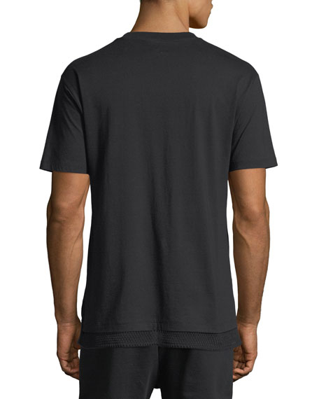 Walcott Mesh-Trim T-Shirt
