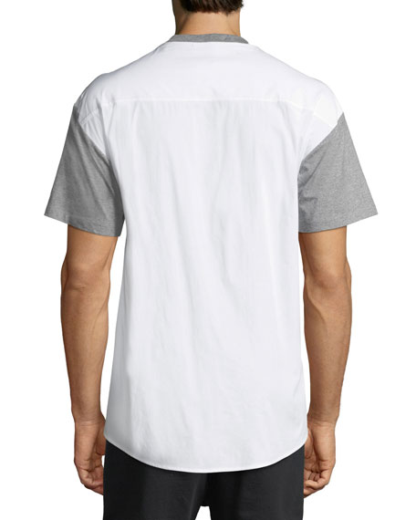 Gilham Woven-Back T-Shirt
