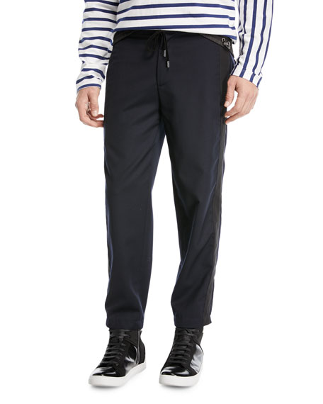 Public School Ras Drawstring-Waist Knit Pants and Matching