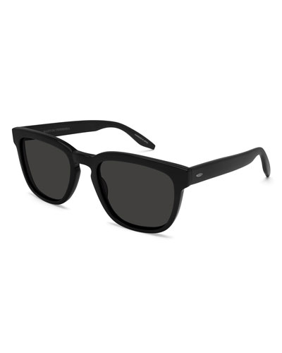 Coltrane Rectangular Acetate Sunglasses