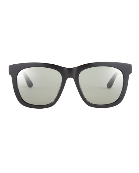 Men's SL M24K Oversize Square Acetate Sunglasses
