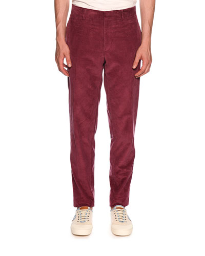 Corduroy Carrot Trouser Pants
