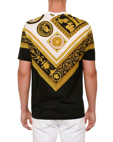 Frames-Print Crewneck T-Shirt