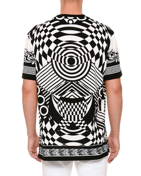 Optical Illusion-Graphic T-Shirt