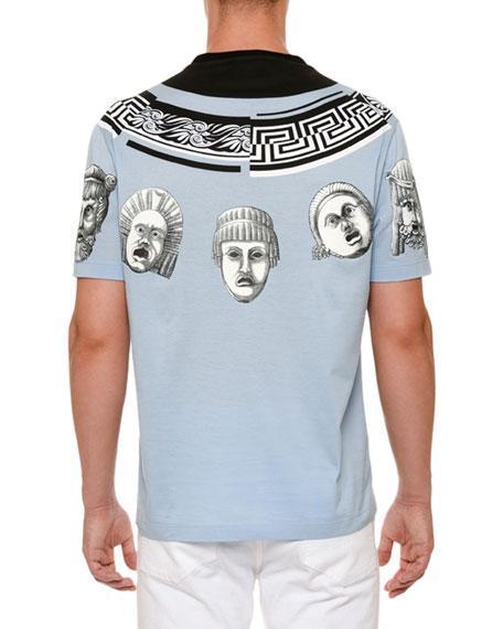 Medusa Heads-Print T-Shirt