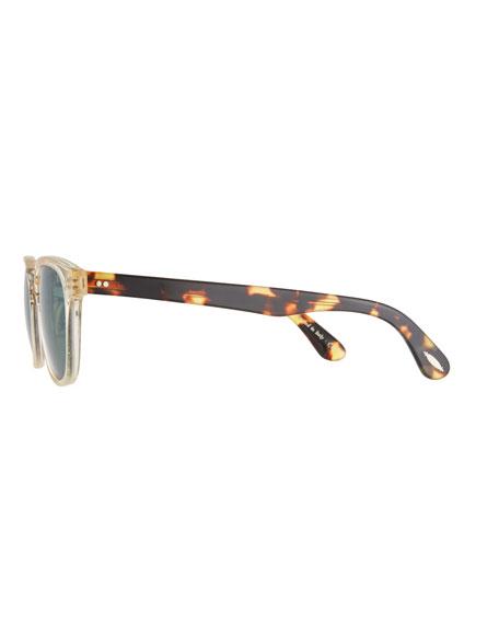 Lerner 30th Anniversary Sunglasses, Clear