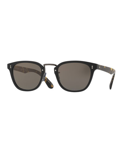Oliver Peoples Lerner 30th Anniversary Sunglasses, Black
