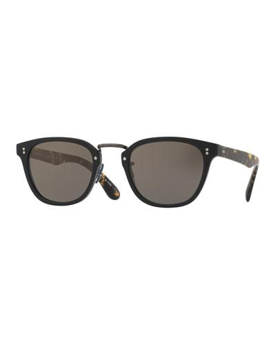 Lerner 30th Anniversary Sunglasses, Black