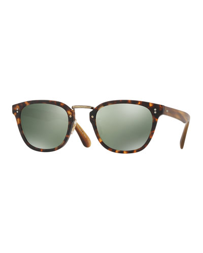 Oliver Peoples Lerner 30th Anniversary Sunglasses, Animal Print