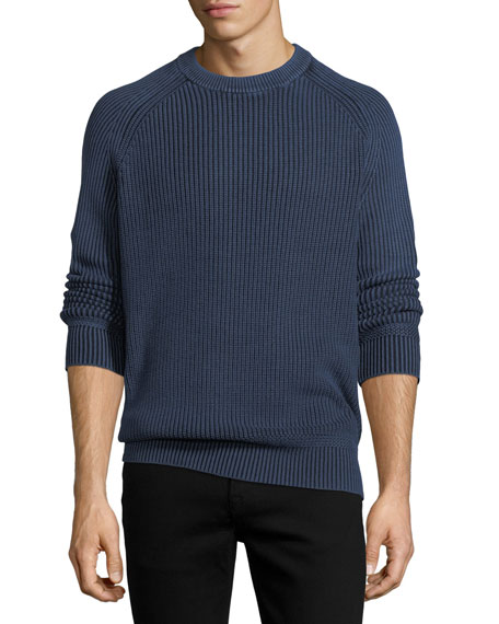 Stonewash Fisherman Sweater