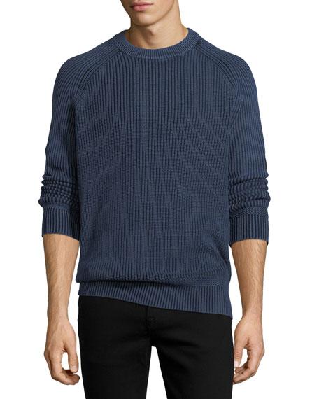 Stonewash Fisherman Sweater