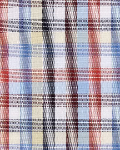 Multicolor Large Check Cotton Dress Shirt