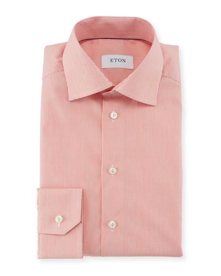 Slim-Fit Bengal-Stripe Dress Shirt