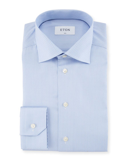Diamond Jacquard Dress Shirt
