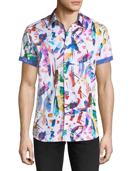 Lerry Woven Multicolor Shirt