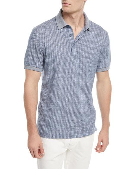 Ermenegildo Zegna Micro-Design Polo Shirt