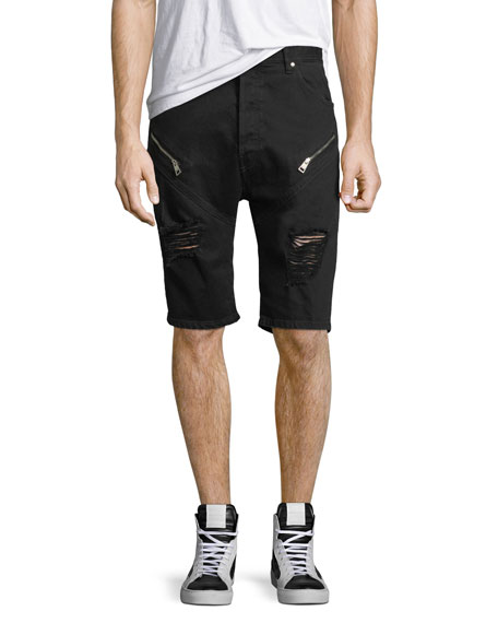 Just Cavalli Distressed Jean Shorts