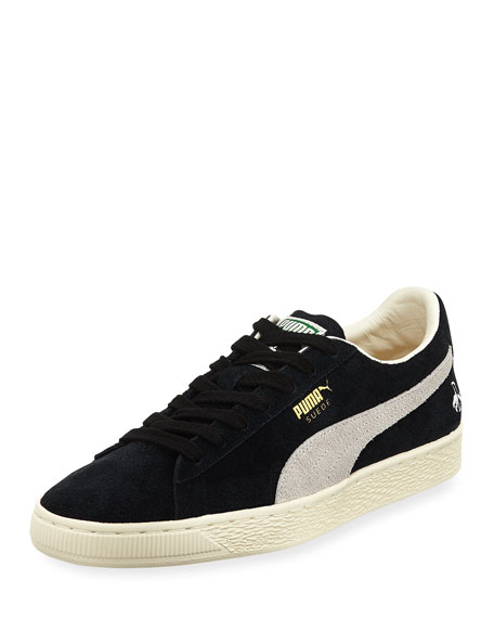Puma Men's Rudolf Dassler Clyde Suede Low-Top Sneaker