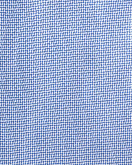 Houndstooth Cotton Dress Shirt