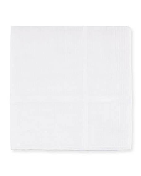 Solid Cotton Pocket Square