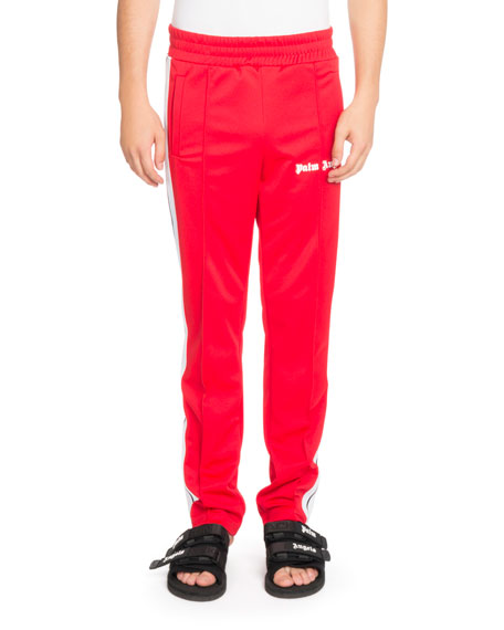 Side-Stripe Track Pants
