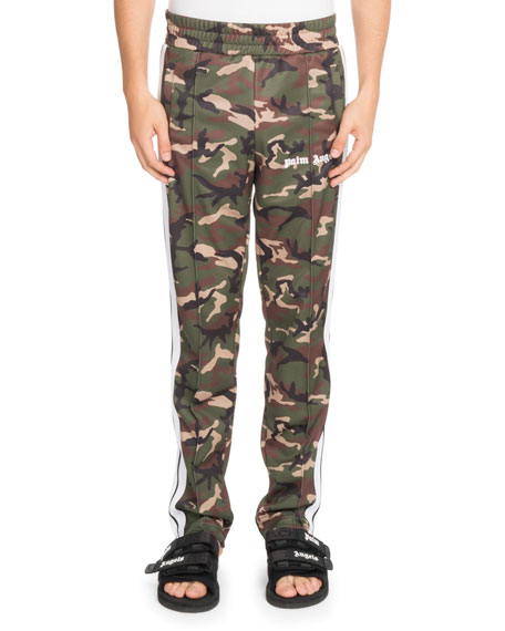 Classic Camouflage-Print Track Pants