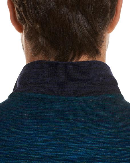 Catalan Ombré-Stripe Polo Shirt