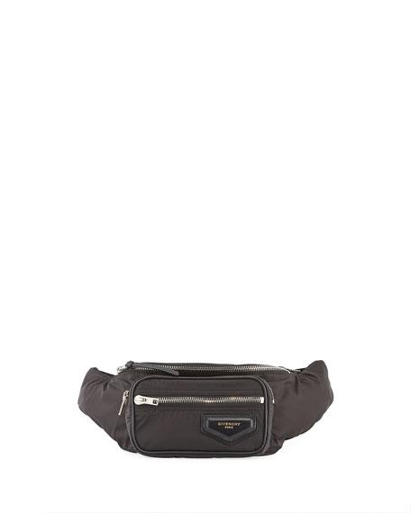 Givenchy Logo-Patch Nylon Belt Bag