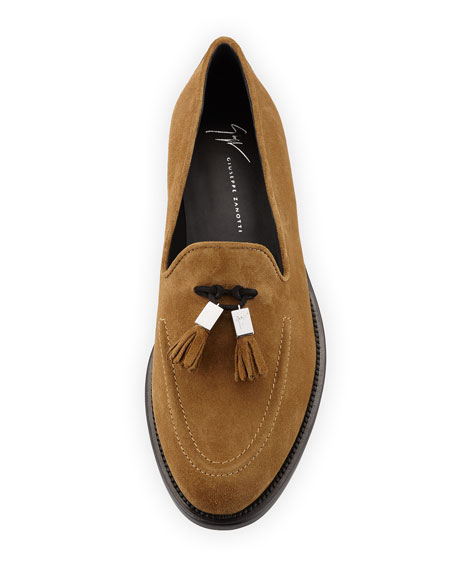 Men's Suede Tassel Loafer