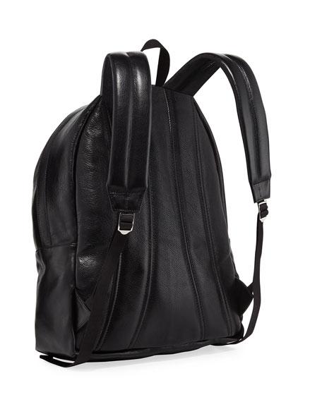 Men's Small Skull-Studded Backpack