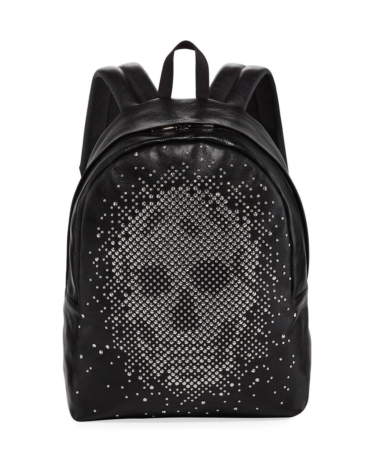 Men S Small Skull Studded Backpack