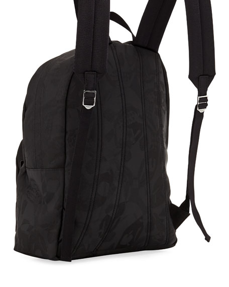 Men's Small Jacquard Backpack