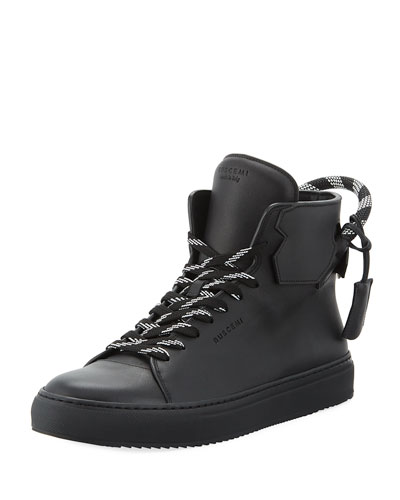 Men's 125mm Corda Leather High Top Sneaker