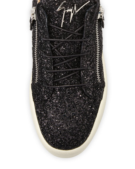 Men's Glitter Low-Top Sneakers