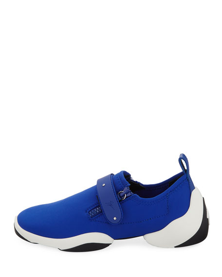 Men's Low-Top Stretch Sneakers