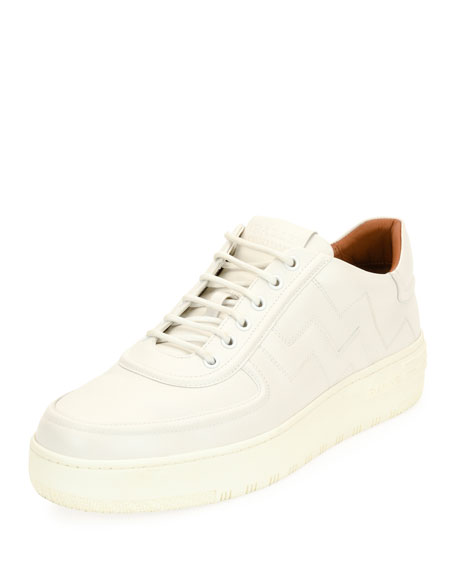 Bally Othello Leather Low-Top Platform Sneaker and Matching