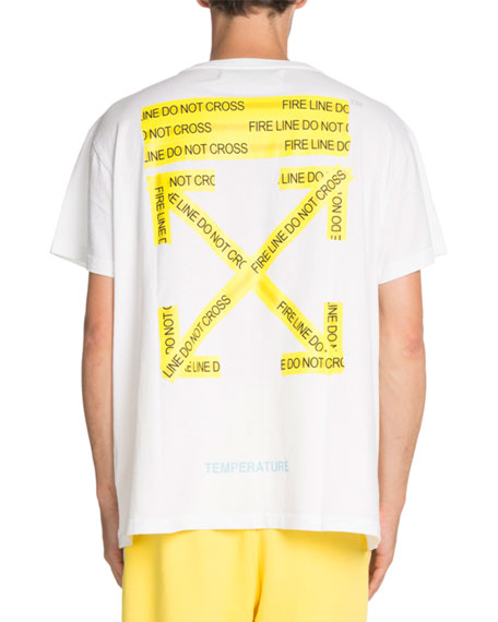 Caution Tape Short-Sleeve T-Shirt