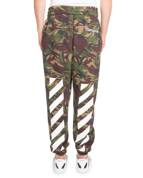 Camouflage-Print Sweatpants