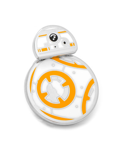 Star Wars BB-8 Spinning Droid Lapel Pin