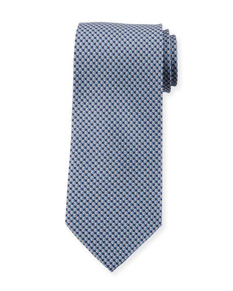 printed dot tie - Grey Salvatore Ferragamo GKJ9Ayni