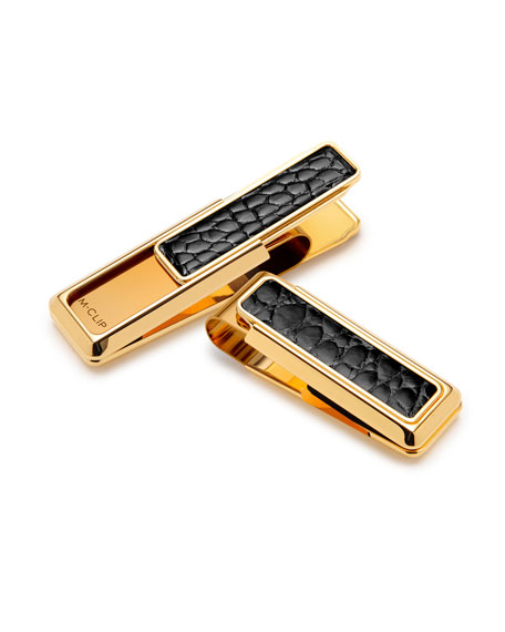 M Clip Gold-Plated Money Clip