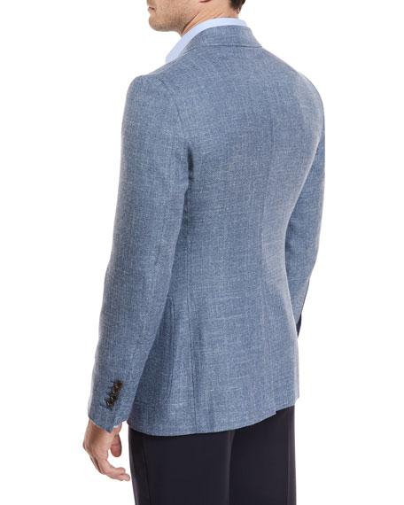 Hopsack Melange Sport Coat
