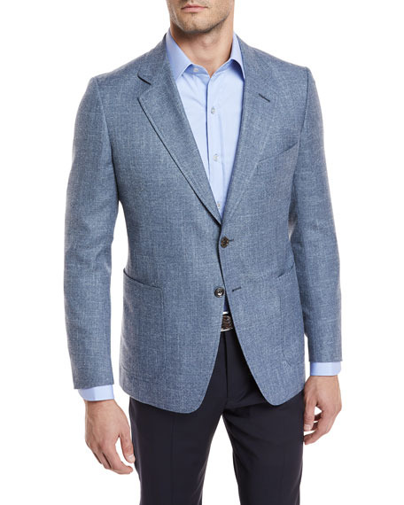 TOM FORD Hopsack Melange Sport Coat