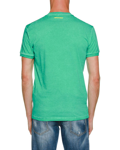 Surf Camp Cotton T-Shirt, Green