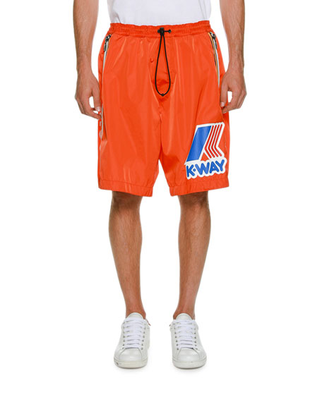 K Way Draw Cord Shorts by Dsquared2