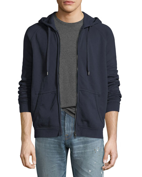 FRAME French Terry Zip-Up Hoodie