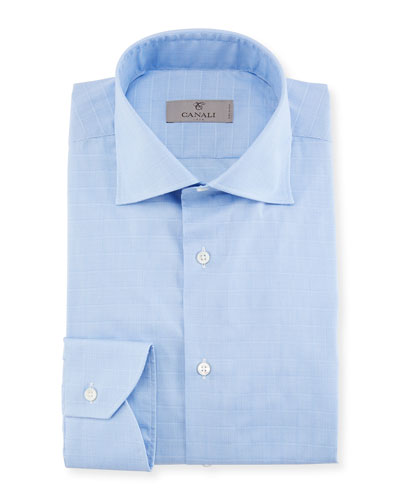 Tattersall Cotton Dress Shirt